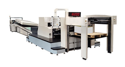 YX-1450 High Speed Spot UV Coating Machine