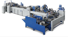 ZB1250S-450 Fully Automatic Paper Bag Making Machine
