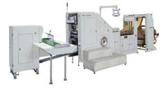 LSB-200 Roll Feeding Square Bottom Paper Bag Making Machine