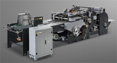 KL50D Automatic paper bag bottom folding machine