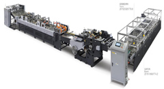 KL-350/1040F Automatic Paper Bag Making Machine