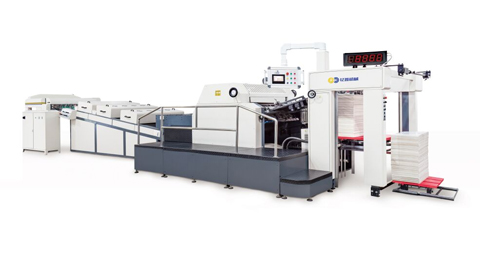 UST-105GW UV Coating Machine